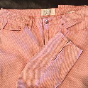 RACHEL Rachel Roy Jeans - Rachel Roy Pinstriped Capris size 31